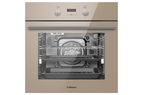 Новый бежевый духовой шкаф Hansa BOEB68433 Fusion II