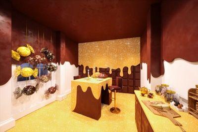 В Лондоне появился съедобный сладкий дом, в котором можно провести ночь