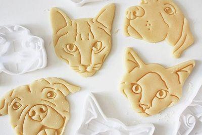 Формы для печенья в виде домашних питомцев