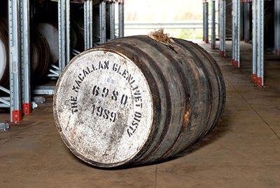 30-летняя бочка виски Macallan установила рекорд на аукционе