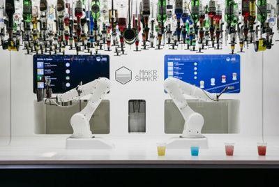В лондонском супермаркете появился робот-бармен