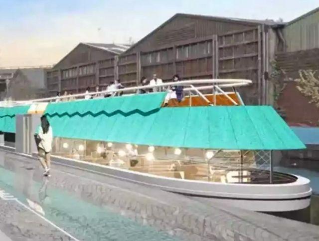 В Лондоне появится плавучая баржа с сыром