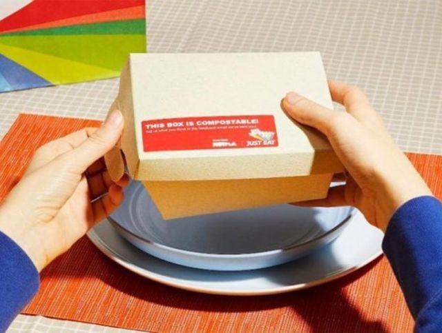 В Великобритании создали контейнеры для еды из морских водорослей