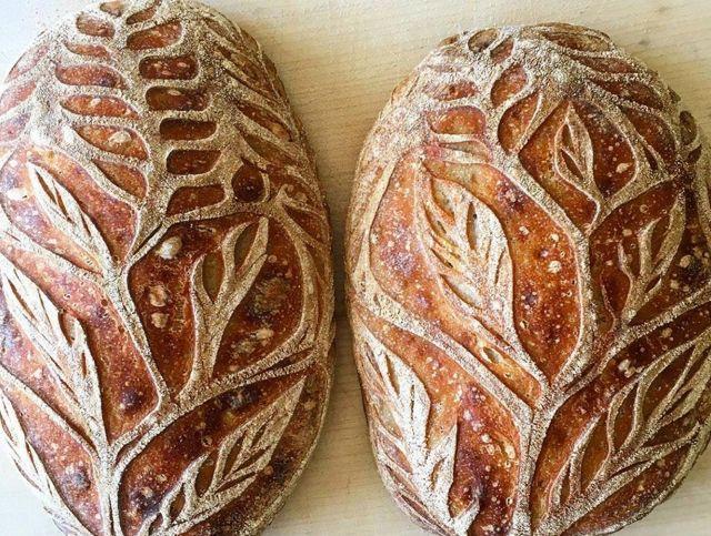 Американский пекарь создает фантастический хлеб