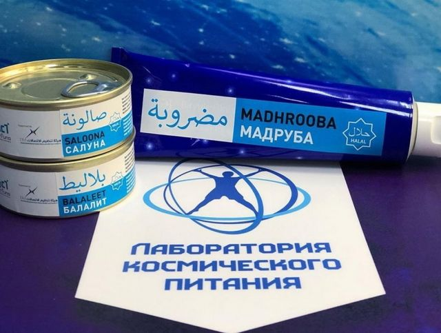 В Арабских Эмиратах будет продаваться российское космическое питание