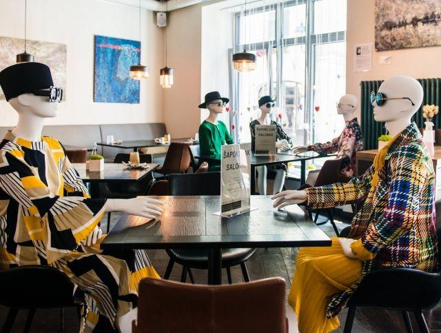 Рестораны Вильнюса проводят модные показы