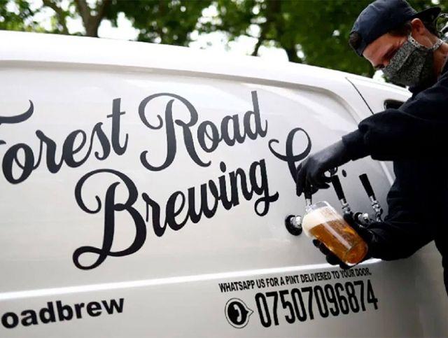 Лондонская пивоварня запустила мобильный сервис розлива пива