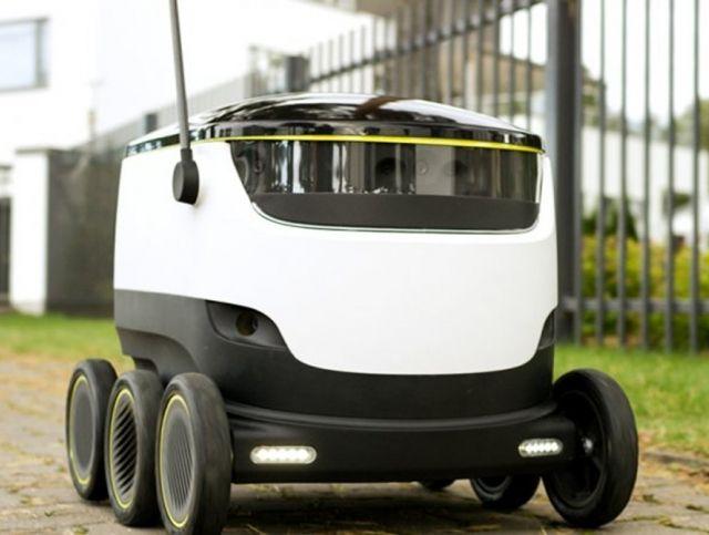 Аризонская пиццерия доставляет пиццу с помощью роботов