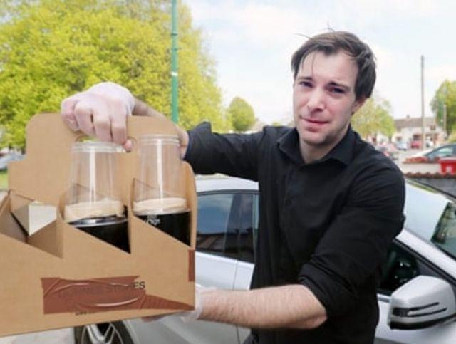 Ирландский паб доставляет заказы с помощью дронов