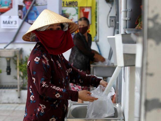 Во Вьетнаме появились рисовые «банкоматы»