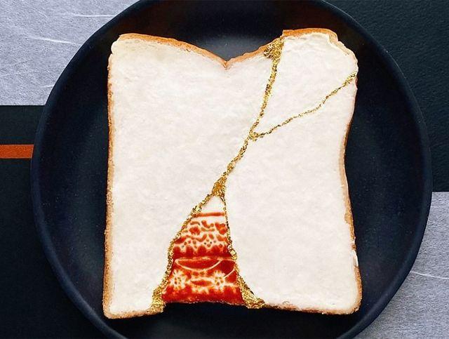 Японский дизайнер готовит необычные тосты на завтрак