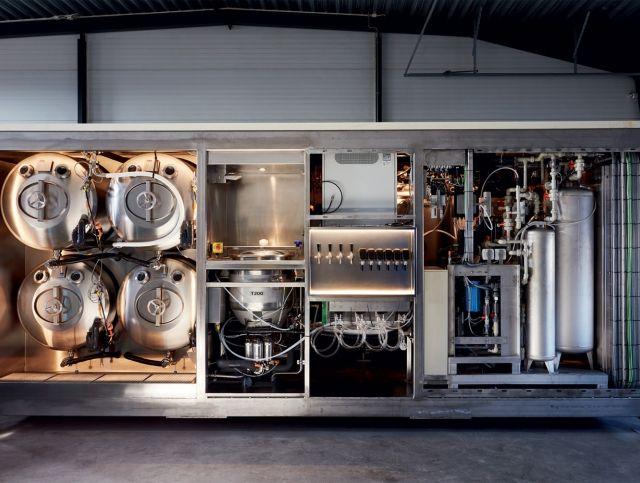 Шведский стартап представил микро-пивоварню на солнечных батареях