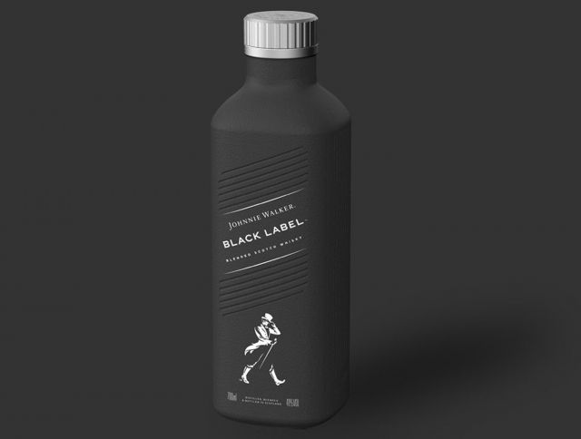Виски Johnnie Walker будет выпускаться в бумажных бутылках