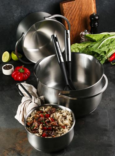 Коллекция посуды Solid от Polaris