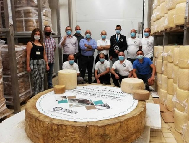 Итальянский сыр попал в Книгу рекордов Гиннеса