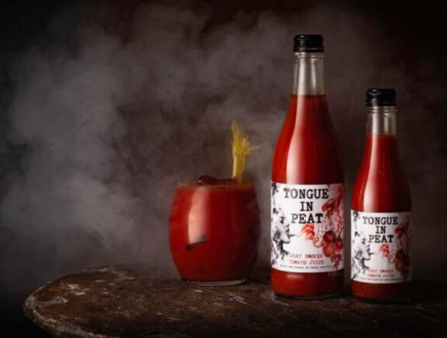 Шотландский производитель представил первый в мире копченый томатный сок