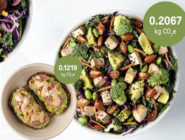 Американская сеть ресторанов стала указывать углеродный след блюд в меню