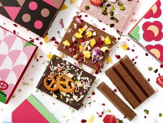 В Токио открылся первый в мире магазин KitKat, где можно создать свой собственный шоколад