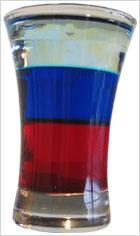 Состав коктейля: 20 мл - гренадин - густой сладкий сироп красного цвета...