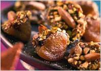 Абрикосы по-турецки - кулинарный рецепт приготовлнения вкуснейшего десерта
