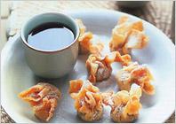 Инжирные вонтоны с хризантемовым чаем – кулинарный рецепт из китайской кухни. Идеально подойдет для меню в китайском стиле и встречи китайского нового года