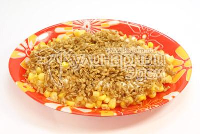 Коричневый рис с креветками – кулинарный рецепт