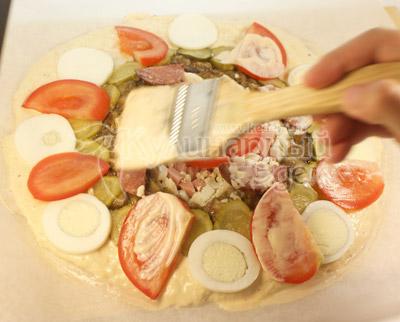 дрожжевая пицца рецепт приготовления