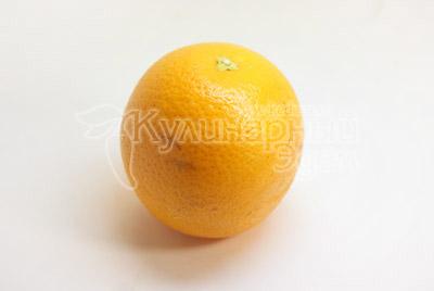 Апельсин помыть. - Апельсин с «мозгами», рецепт на Хэллоуин