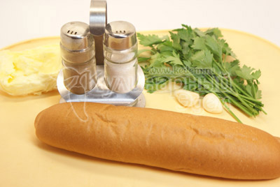 Ингредиенты - Тосты к супу