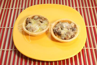 закуски из грибов на праздничный стол рецепты с фото #10