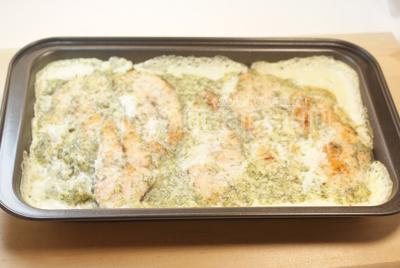 Горбуша в духовке стейками рецепт с фото