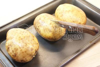 """Фаршированный картофель """"Традиционная"""" – кулинарный рецепт"""