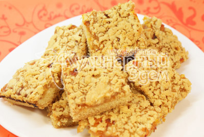 Печенье «Вкусняшка» с яблочным джемом и облепихой