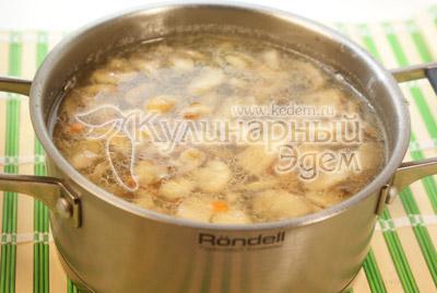 Рецепты суп с грибами шампиньонами