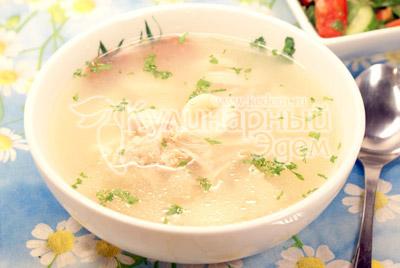 Суп с «ушками»