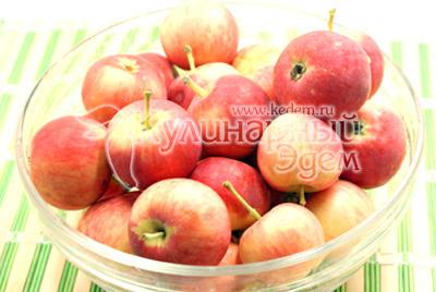 Яблоки хорошо вымыть и высушить. - Повидло из яблок. Фото приготовления яблочное повидло.