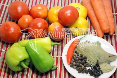 Помидоры для гурманов – кулинарный рецепт