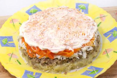 """Салат """"Нарядный"""" – кулинарный рецепт"""