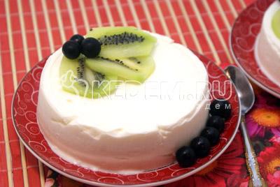 Десерт из мороженого «Для любимой»