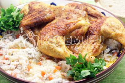 Курица запеченная «По-восточному»