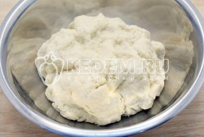 Замесить тесто. - Торт «Муравейник». Фото рецепт приготовление торта Муравейник.