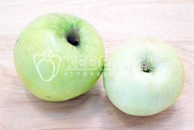 Блинчики с яблочной начинкой