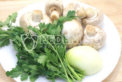 Рисовый суп с грибами и фасолью – кулинарный рецепт