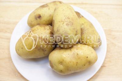 - Картофельные дольки под сыром. Фото приготовления картофельных долек под сыром