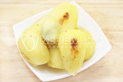 Картофель печеный с овощами – кулинарный рецепт