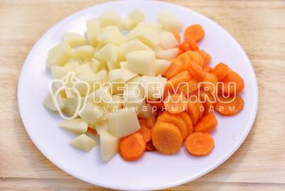 Суп с зеленым горошком и кукурузой