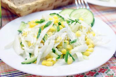 Салат из капусты с мясом – кулинарный рецепт