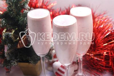 Сливочный десерт «Новогодний»