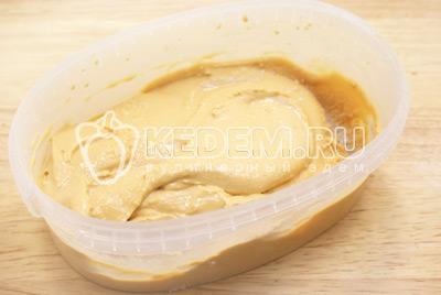 Новогодний десерт-мороженое «Крем-брюле»