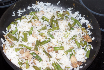 Фаршированный рис – кулинарный рецепт